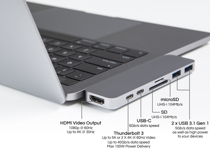 Upcoming HyperDrive USB hub solves port problems on the 2016