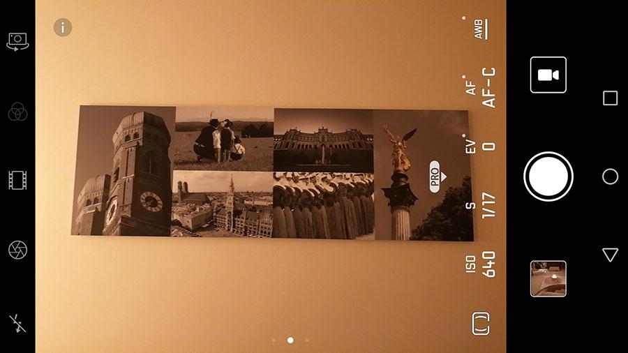 Huawei Mate 9 Pro mode