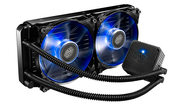 The Seidon 240P's relatively slim height should allow it to fit in most cases. (Image Source: Cooler Master)