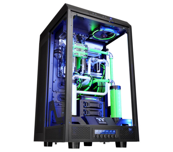 Completely Glass Pc Case