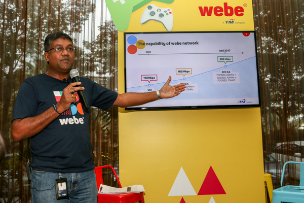 Shurish Subbramaniam, Chief Technology Officer, webe digital sdn bhd, breaking down the technicalities.