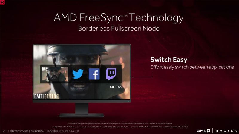 """Also another """"Finally!"""" moment: seamless switching between apps and programs in Borderless Fullscreen mode."""