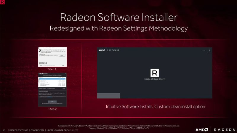 Crimson ReLive will have a sleeker and improved installation procedure.