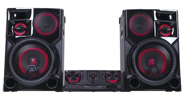 LG LOUDR CJ98 speaker system.