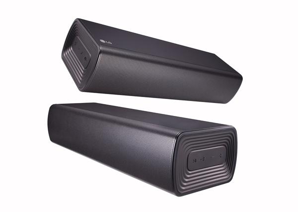 LG SJ7 sound bar.