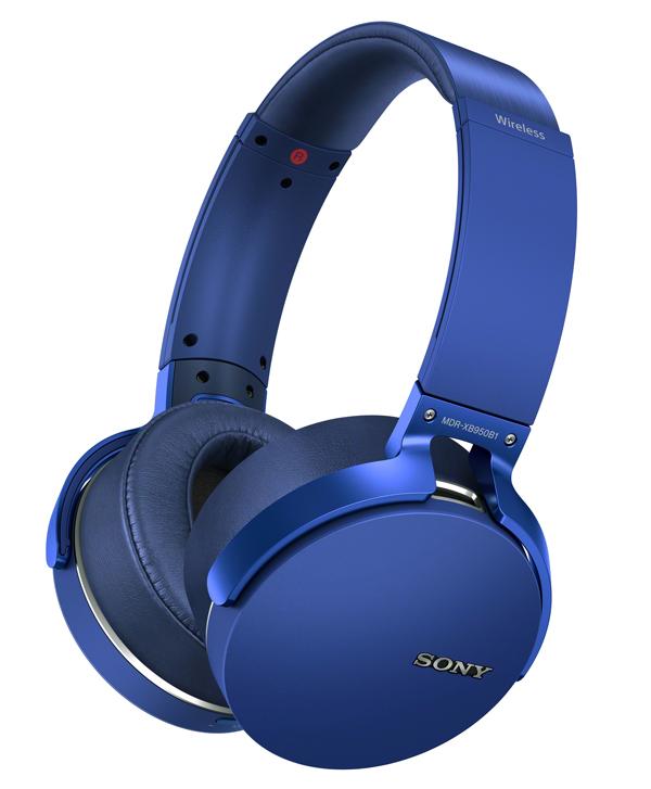 MDR-XB950B1 wireless headphones.
