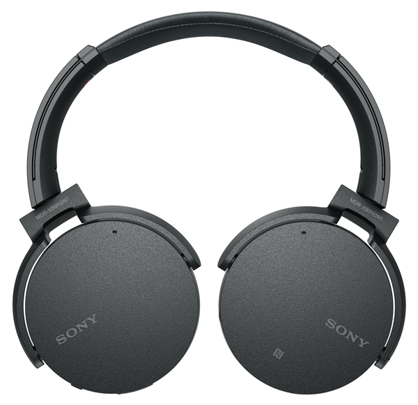 MDR-XB950N1 wireless headphones with noise-cancelling.