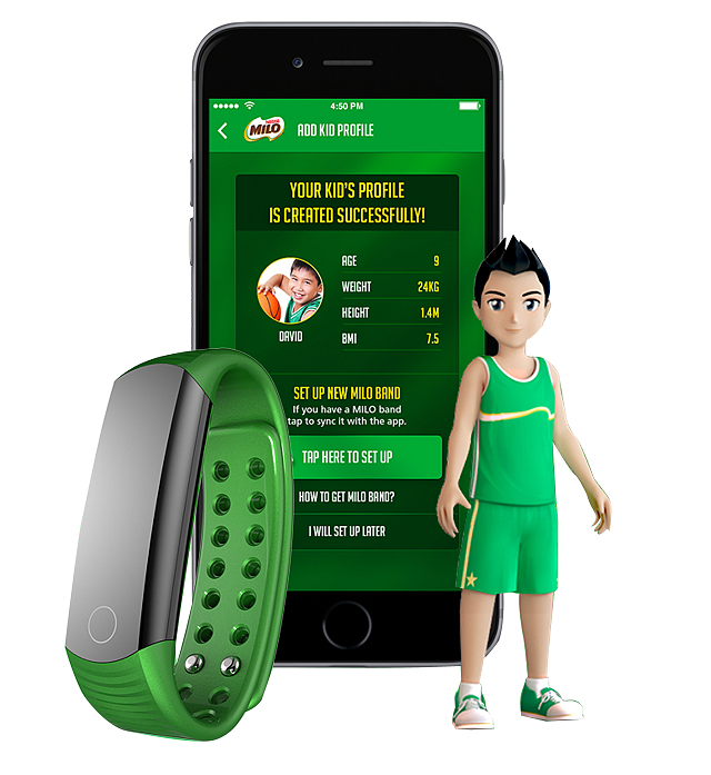 hardwarezone philippines, hwm philippines, fitness tracker, milo champ band, wearables, milo champ squad kit, milo champions app, nestle