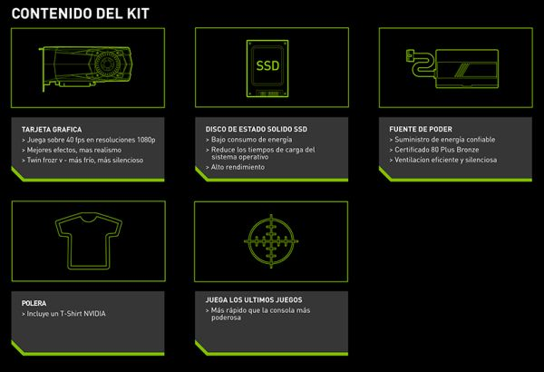It's apparent that Spain is one of the European countries that'll be getting NVIDIA's PC Gaming Revival Kit. <br> Image source: Videocardz.