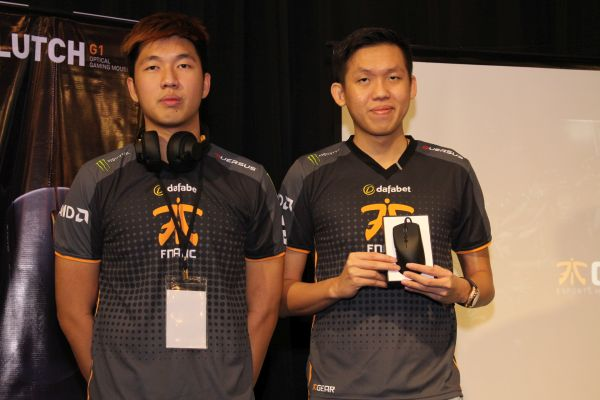 From L-R: Ohaiyo and Mushi, Malaysia's own homegrown eSports players. Both are members of the U.K-based eSports team, Fnatic.