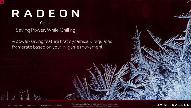Introducing Radeon Chill, AMD's new power-saving feature.