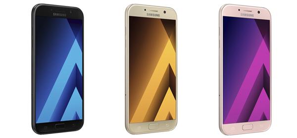 Samsung Galaxy A7 (2017).