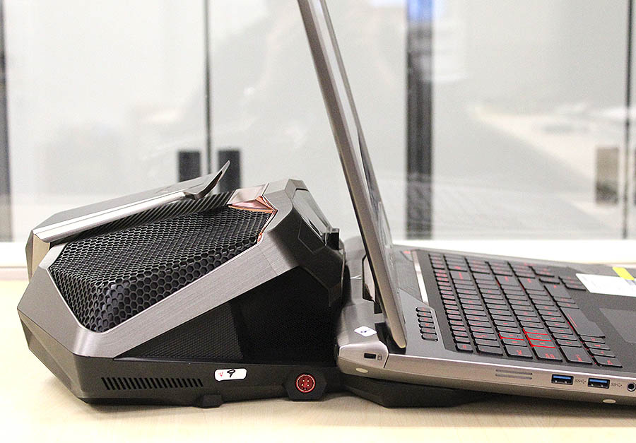 ASUS ROG GX700 liquid-cooling dock