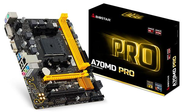Biostar A70MD PRO motherboard