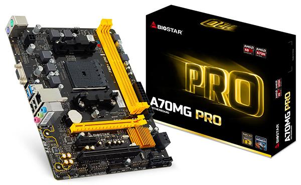 Biostar A70MG PRO motherboard