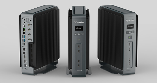 The Airtop small form factor PC can dissipate 200W of heat without ...