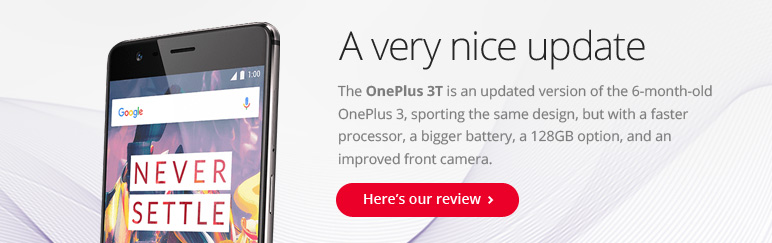 Review: OnePlus 3T