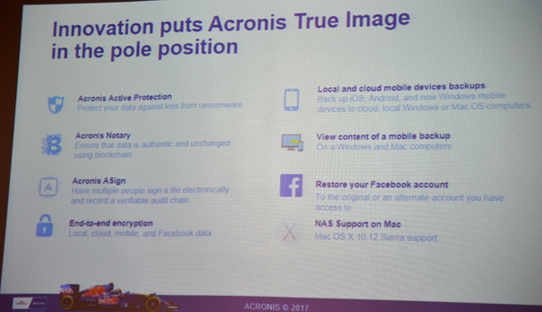 Acronis True Image 2017 New Generation Makes It Easy To