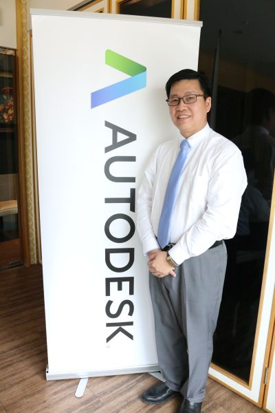 Chris Lee, Country Manager for Autodesk Malaysia, Singapore, and Brunei.