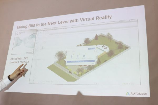 With Autodesk BIM 360, users can easily create a 3D model and transpose it into VR now.