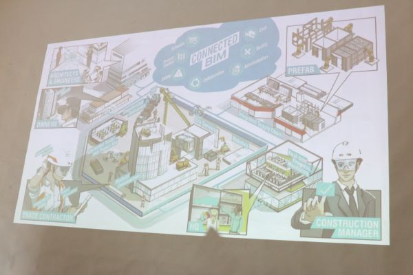 BIM 360 can also be used by architects in the construction and heavy industry sector, allowing them to fabricate a design in VR before eventually making their design a reality.