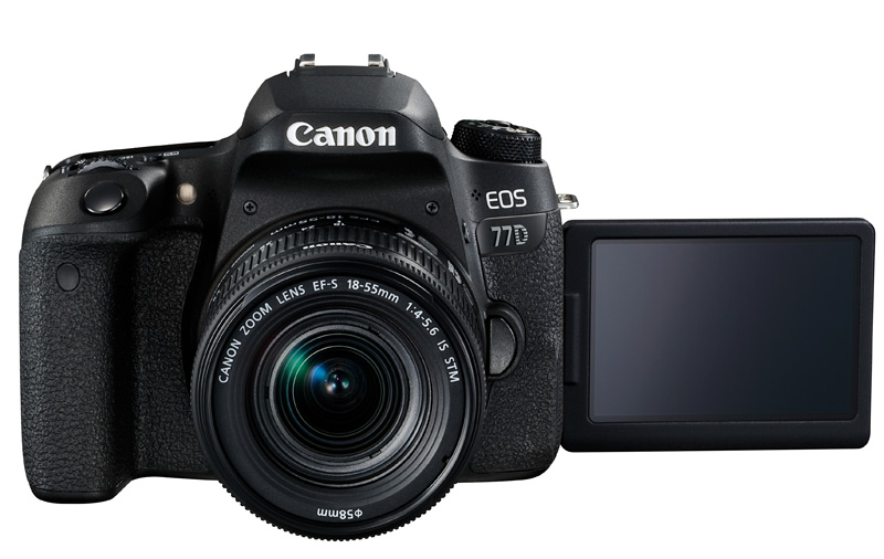 The EOS 77D offers serious enthusiasts yet another APS-C option.