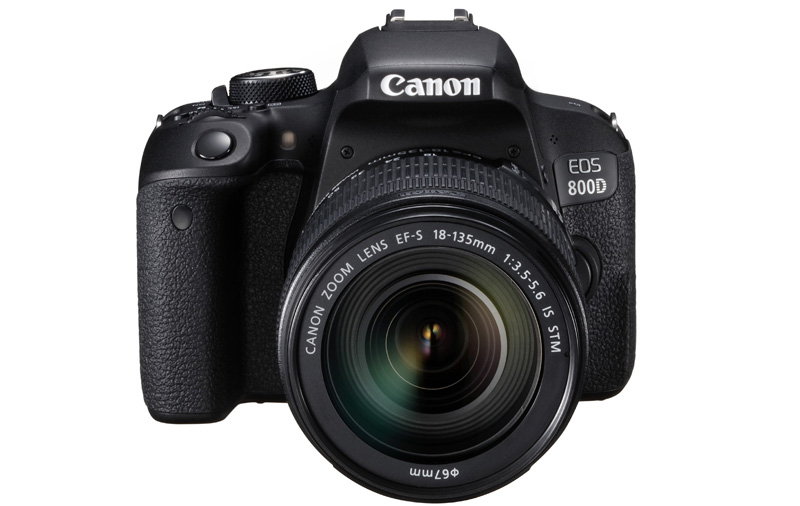 The EOS 800D brings mid level features to a beginners.