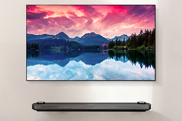 The Lg Signature Oled W7 Is So Thin That The Only Way To