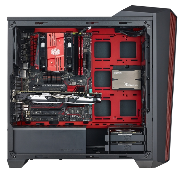 A side view of the MasterBox Maker 5t. (Image source: Cooler Master)