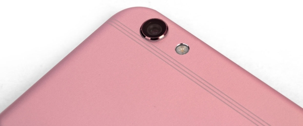 The rear camera does protrude a little. so you'll want to be careful when you put the phone down.