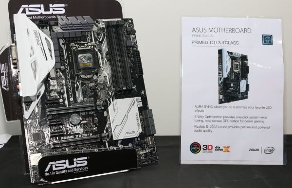 The ASUS Prime Z270 series motherboards are designed for the mainstream consumer segment.