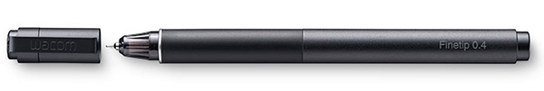 The Finetip pen actually lets you draw with ink.