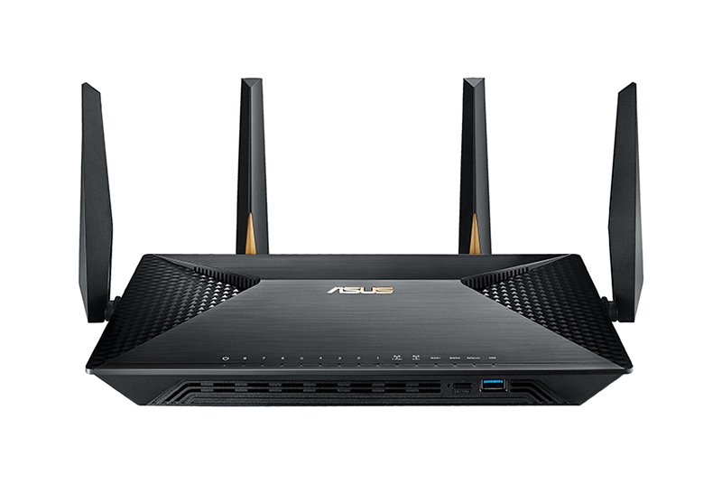 how to connect two asus routers together