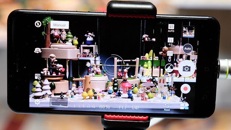 ASUS ZenFone 3 Zoom camera