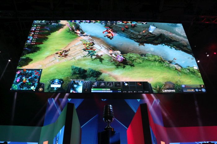 Watching a Dota 2 game on a big projector screen while being surrounded by zealous fans was truly an experience like no other.