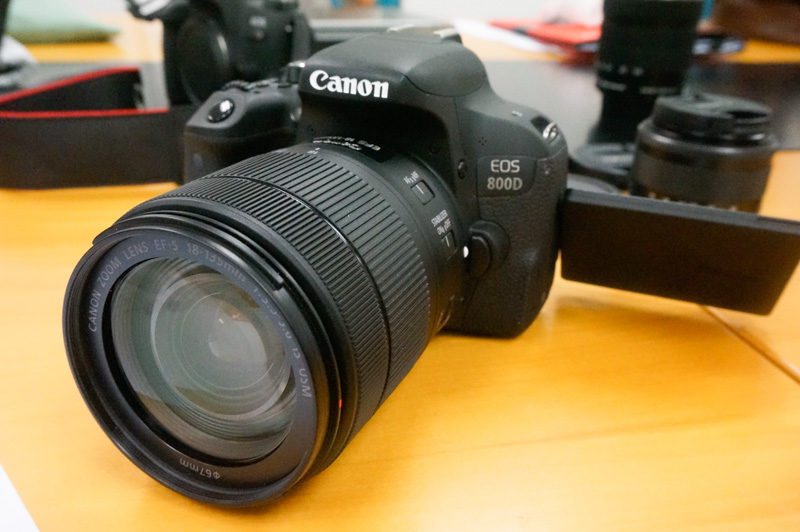 In pictures: The new Canon EOS 800D and EOS 77D