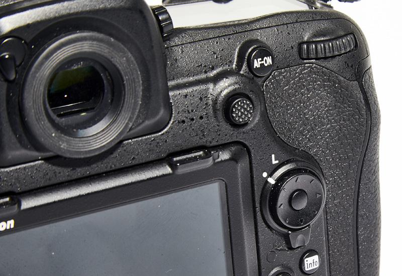 Nikon's focus lever is a little too stiff.