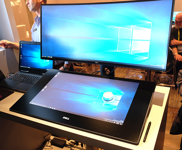 The Dell Canvas is a monitor and not a standalone PC.