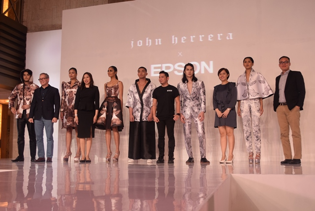 Epson partners with fashion designer John Herrera for an Aguila