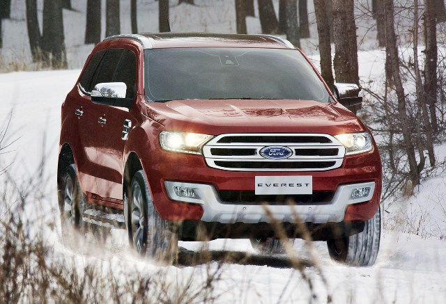 Ford Everest (Image source: The Motor Report)