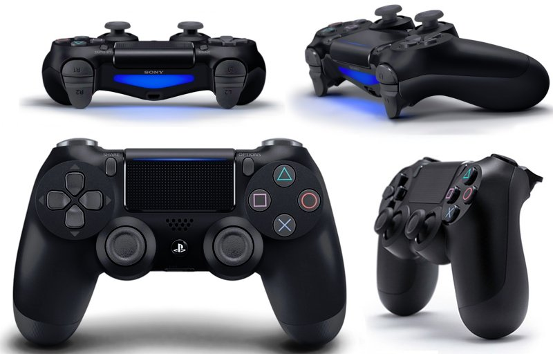 The latest controller for the Playstation family, the DualShock 4 is sturdy, solid and feels great in your hand.