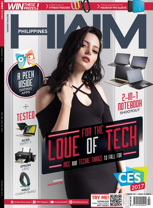technophilia, hwm, philippines, margo midwinter, peekawoo, valentine's day, valenice balace, forbes 30 under 30, oppo f1s, zen rooms, ces 2017, consumer electronics show, milo champ band, asus zenfone 3 zoom, lenovo yoga 910, acer swift 7, asus zenbook 3, dell latitude 3379, fitbit flex 2, nokia 6, starmobile play five