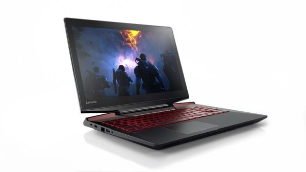 Lenovo's new Legion lineup currently comprises of two gaming notebooks: the Y720 (pictured here) and the Y520.