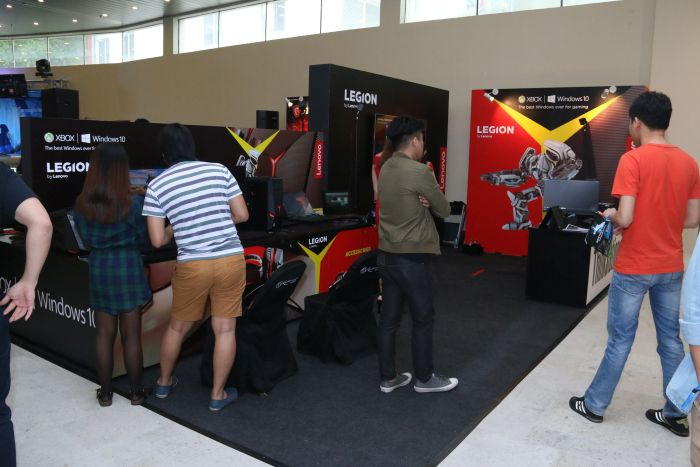 Both Lenovo and MSI were sponsors to ESL One Genting, and they had their own respective booths at the event as well.