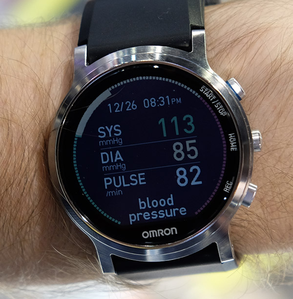 omron smart watch