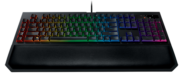 719932f981e Razer BlackWidow Chroma V2. The magnetic wrist rest can be very  conveniently detached. (Image Source: Razer)