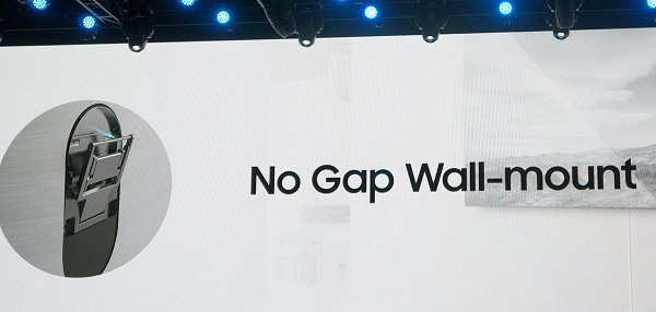 This is the new no-gap wall mount.