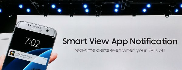 Besides searching for content with ease, the Smart View app can also send you alerts related to the show and if your preferred show is about to commence.