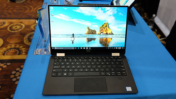 It retains Dell's signature InfinityEdge display.