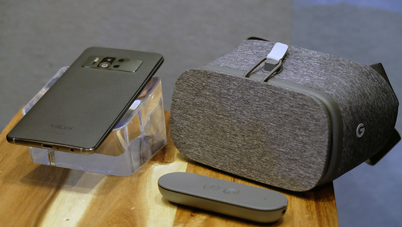 The ZenFone AR will work with Google's Daydream View headset.